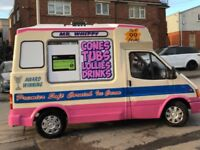 Ford Transit ice cream van reduced price for quick sale £18000