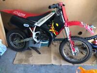 Malaguti Grizzly 12 50cc kids motocross motorbike