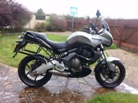 Graphite Grey 2010 Kawasaki Versys with Panier boxes. 15k Miles. Very good condition. £2600 ONO.