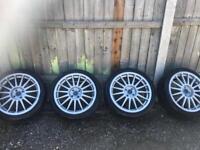 """4x108 17"""" alloy wheels multi spoke fox"""