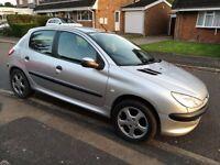 2002 Peugeot 206 spares or repair