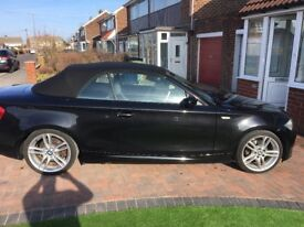 BMW 120i msport soft top for sale....59 plate