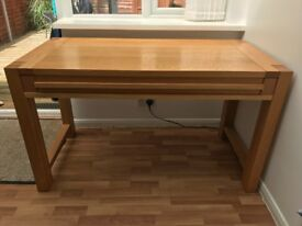Solid Oak M&S Desk