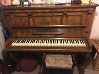 Free to good home - Upright O.Beyer Rahnefeld Piano