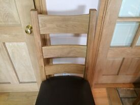 MAGNIFICENT solid oak chairs BELFAST NEWCASTLE can deliver if required dining room kitchen bedroom