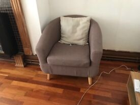 Sofa chairs and table