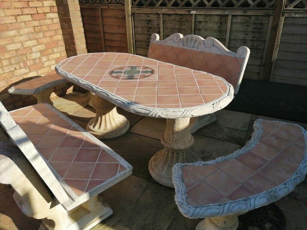 Stone garden furniture | in Nailsea, Bristol | Gumtree