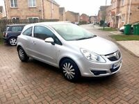VAUXHALL CORSA CLUB AC 1.2, FULL SERVICE HISTORY, MILEAGE 60k, MOT 10 MONTHS, HPI CLEAR
