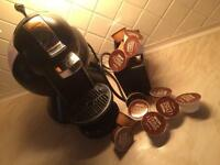 Nescafé Dolce Gusto with holder and pods