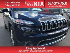 2016 Jeep Cherokee Limited LEATHER PANORAMIC ROOF BACK UP CAMERA