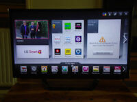 LG 47inch SMART LED,FULLHD,USB,WEB BROWSER,APPS,3D,FREE DELIVERY GLASGOW