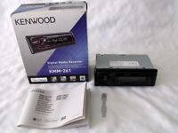 Kenwood KMM-261 Car Stereo Receiver for iPhone/iPod / USB / Boxed