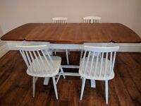 Extending kitchen/dinning table & chairs
