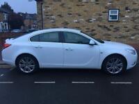 Vauxhall insignia 1.8 white 2011
