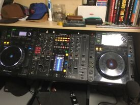 Pioneer DJM 2000 Pro 4 channel mixer, with enhanced effects unit