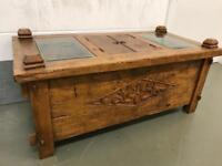 Oriental coffee table chests with FREE DELIVERY