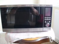 SILVER CREST COMBI MICROWAVE OVEN.