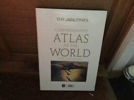 The Times World Atlas Excellent Condition