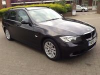 BMW 3 SERIES 2005 BLACK ESTATE 42000 MILES 9 MONTH MOT 2 OWNER £4250/-ONO