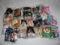 Collectible McDonalds Happy Meal Toys Factory Sealed 25PC