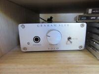 Graham Slee headphone amp SRG with upgrade of Psu1 power supply head phone magnificent
