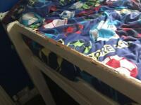 Mid sleeper bed and child's desk