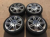 "18""Rs4 alloys 5x100"