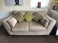 2 Seater Fabric Sofa From Lee Longlands