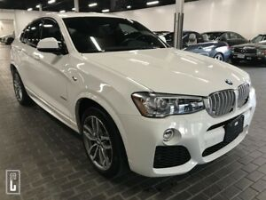 2016 BMW X4 xDrive28iM-SPORT, BACK-UP CAMERA, NAVI, ONLY 20KMS