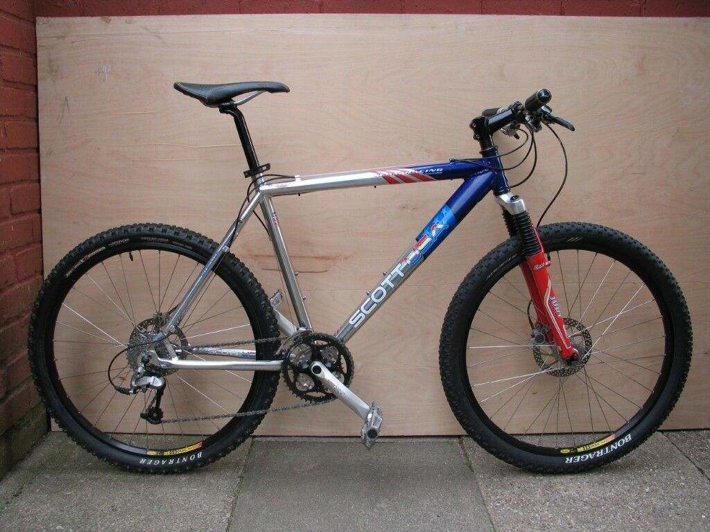 930d71a729c scott racing team limited mountain bike, deore xt, mavic, rockshox | in ...