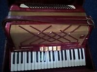 Piano accordion in excellent condition. £300 ONO.