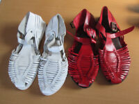 2 x Pairs of ladies sandals from Next, Urban Vintage. 1 pair never worn. women's sandals. holiday