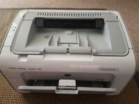 USED HP LaserJet P1102 + 2 NEW toners