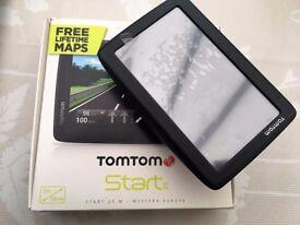 TomTom Start 25M - Western Europe Free Lifetime Maps