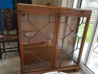 1930's Glass Display Cabinet