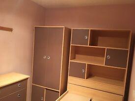 Childrens Single Cabin Bed Furniture Set