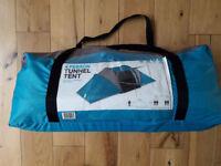 BRAND NEW Halfords 4 Man Vis A Vis Tent - Light Blue