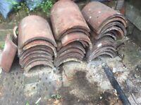 30 Original Clay Tile Ridges for Roof