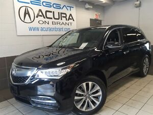 2016 Acura MDX TECH | 1OWNER | ONLY50000KMS | OFFLEASE | DVD | 7