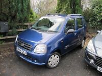SUPERB SUZUKI WAGON-R MPV, 1.3, ONLY 49000 MILES FROM NEW, 60MPG, NEW MOT, PART-EXCHANGE WELCOME