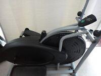Cross trainer elliptical exercise machine gym equipment