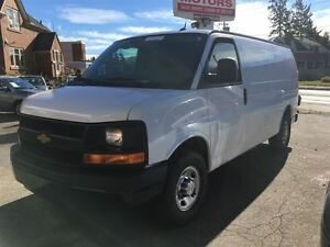 2014 Chevrolet Express 3500 Cargo | 4.8L V8 | 4 NEW TIRES Kitchener / Waterloo Kitchener Area image 6