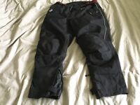 Motorbike trousers. Akito. Fully armoured. Full detachable lining. Large.
