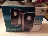 Logitech LS11 Stereo Computer Speakers for PC audio