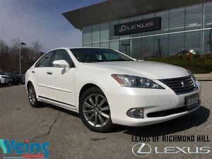 2012 Lexus ES 350 TOURING EDITION|REAR SPOILER