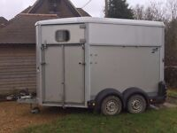 Ifor Williams double horse Trailer HB511