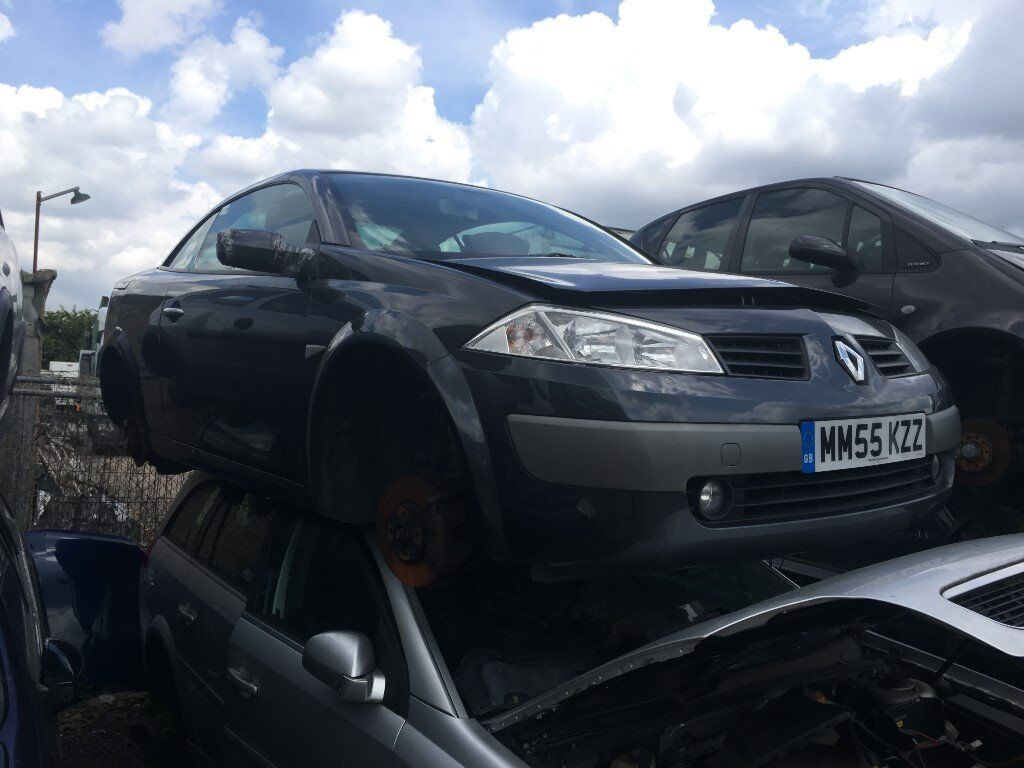 2005 RENAULT MEGANE DYNAMIQUE VVT (MANUAL PETROL)- FOR PARTS ONLY