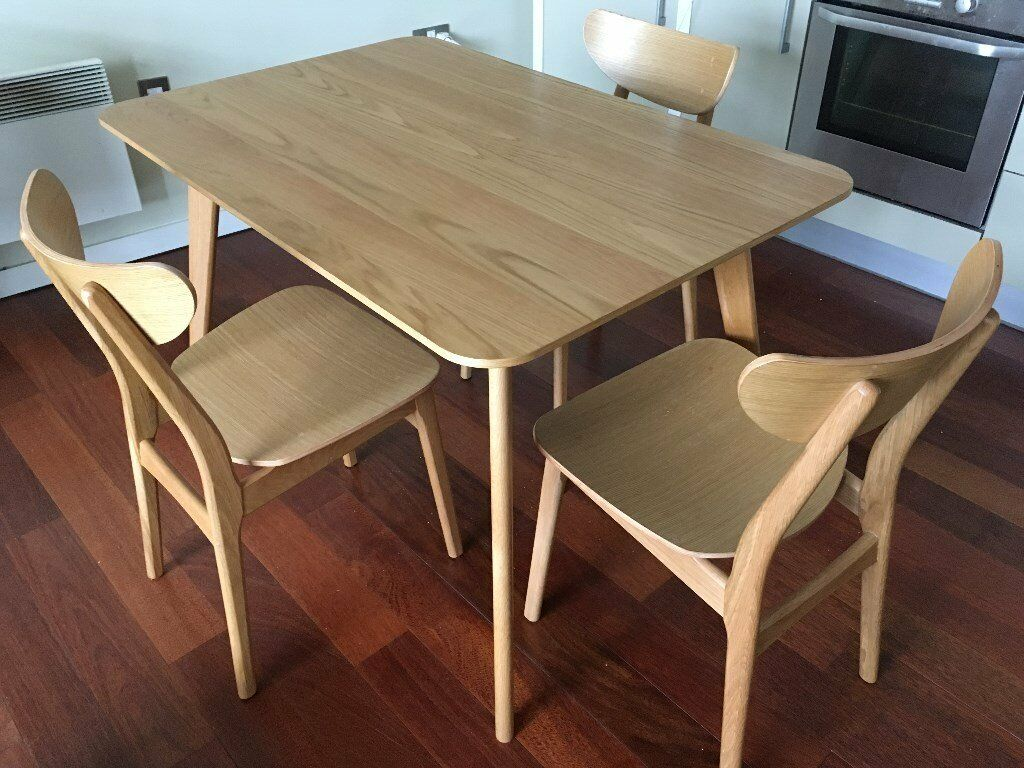 John Lewis Kitchen Furniture Lily Rectangular Dining Room Table By John Lewis With 3 Chairs