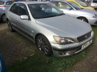 Lexus IS 200 2.0 SE 4dr Automatic....125000 Miles...Service History inc New Cambelt....12 Mth MOT