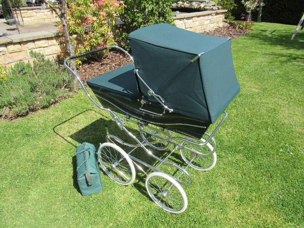 Genuine Silver Cross Carlton Coach Built Pram British
